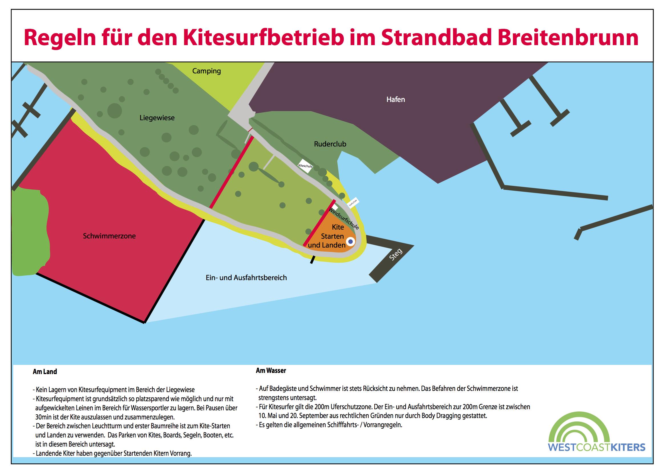 Westcoastkiters Breitenbrunn Rules